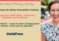 Workshop 4 Goldfrau Babett Mahnert