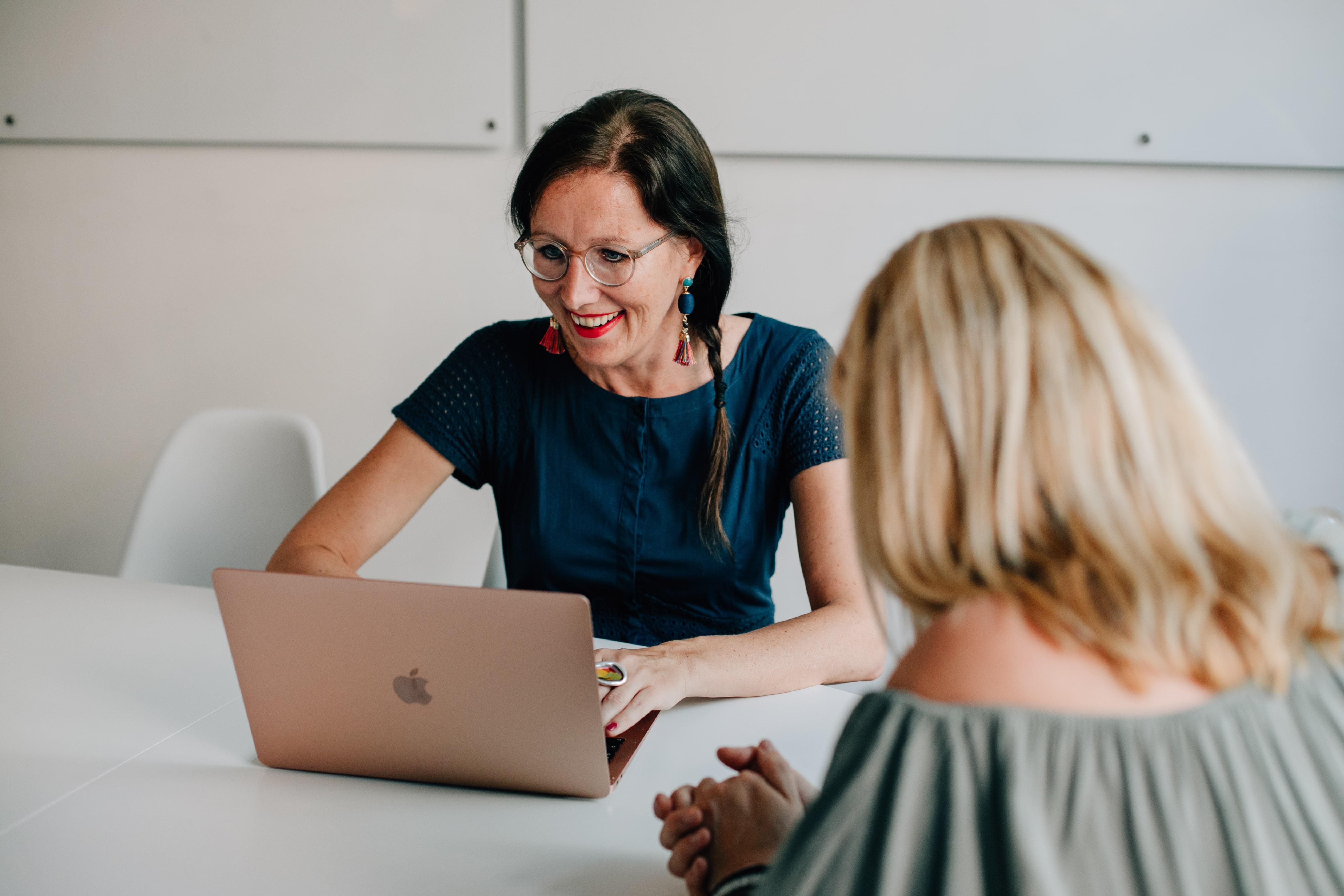 Mentoringprogramm mit Finanzexpertin Babett Mahnert