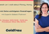 Finanztalk Babett Mahnert